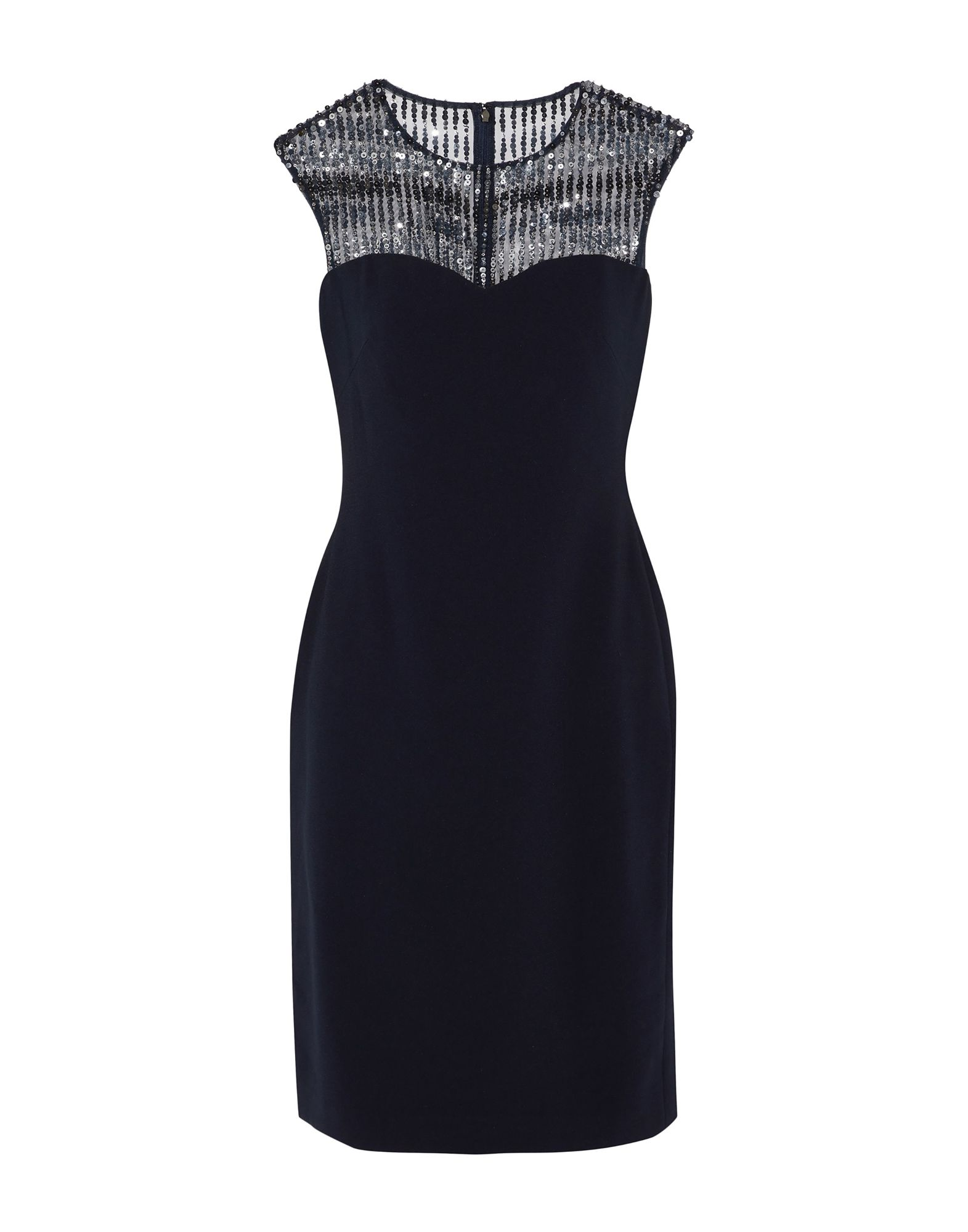 MIKAEL AGHAL Knee-Length Dresses in Dark Blue