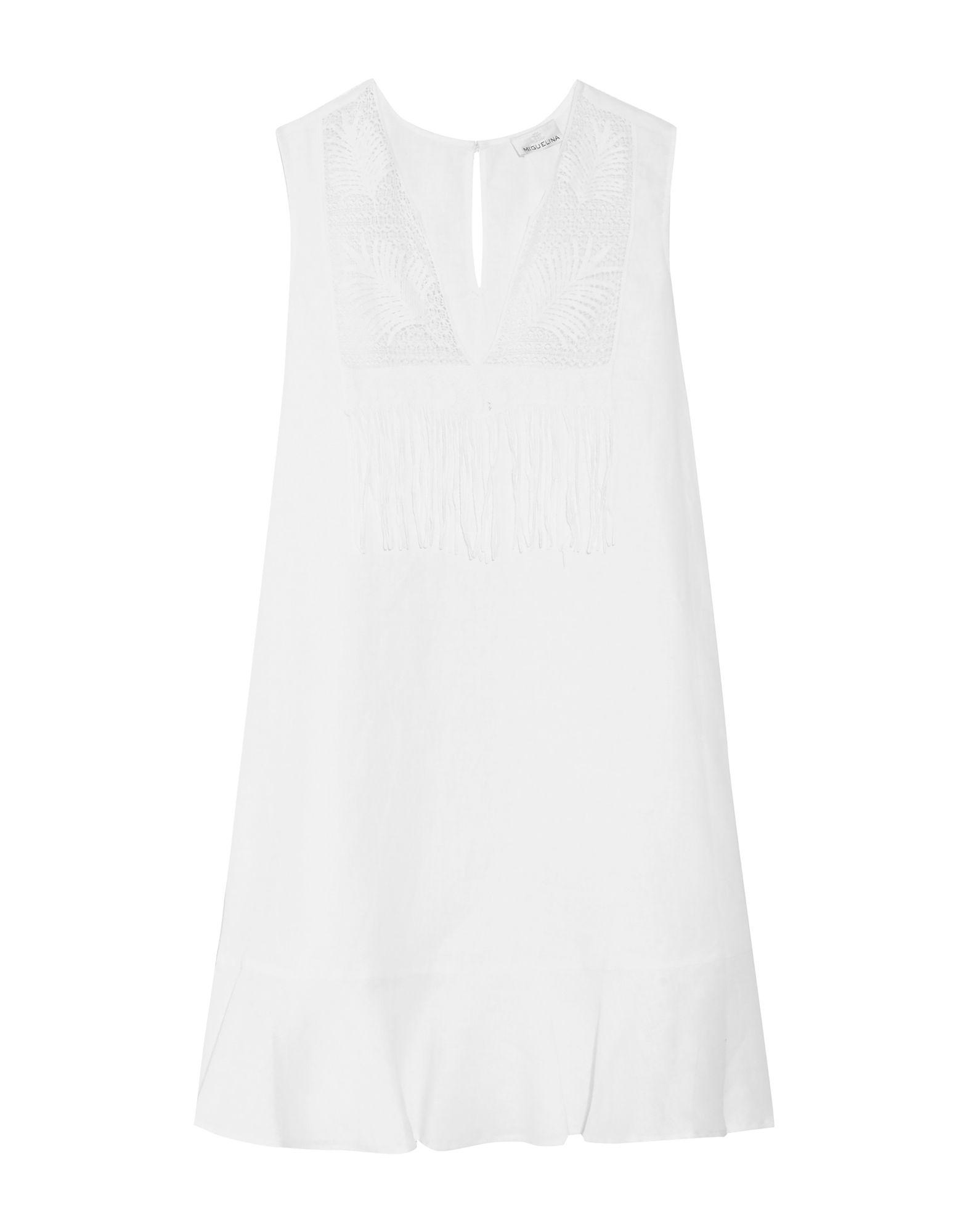 MIGUELINA Короткое платье miguelina кардиган