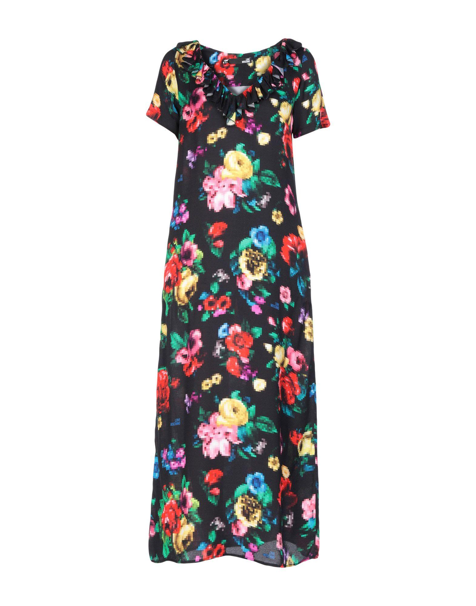 LOVE MOSCHINO Длинное платье peace love by calao длинное платье