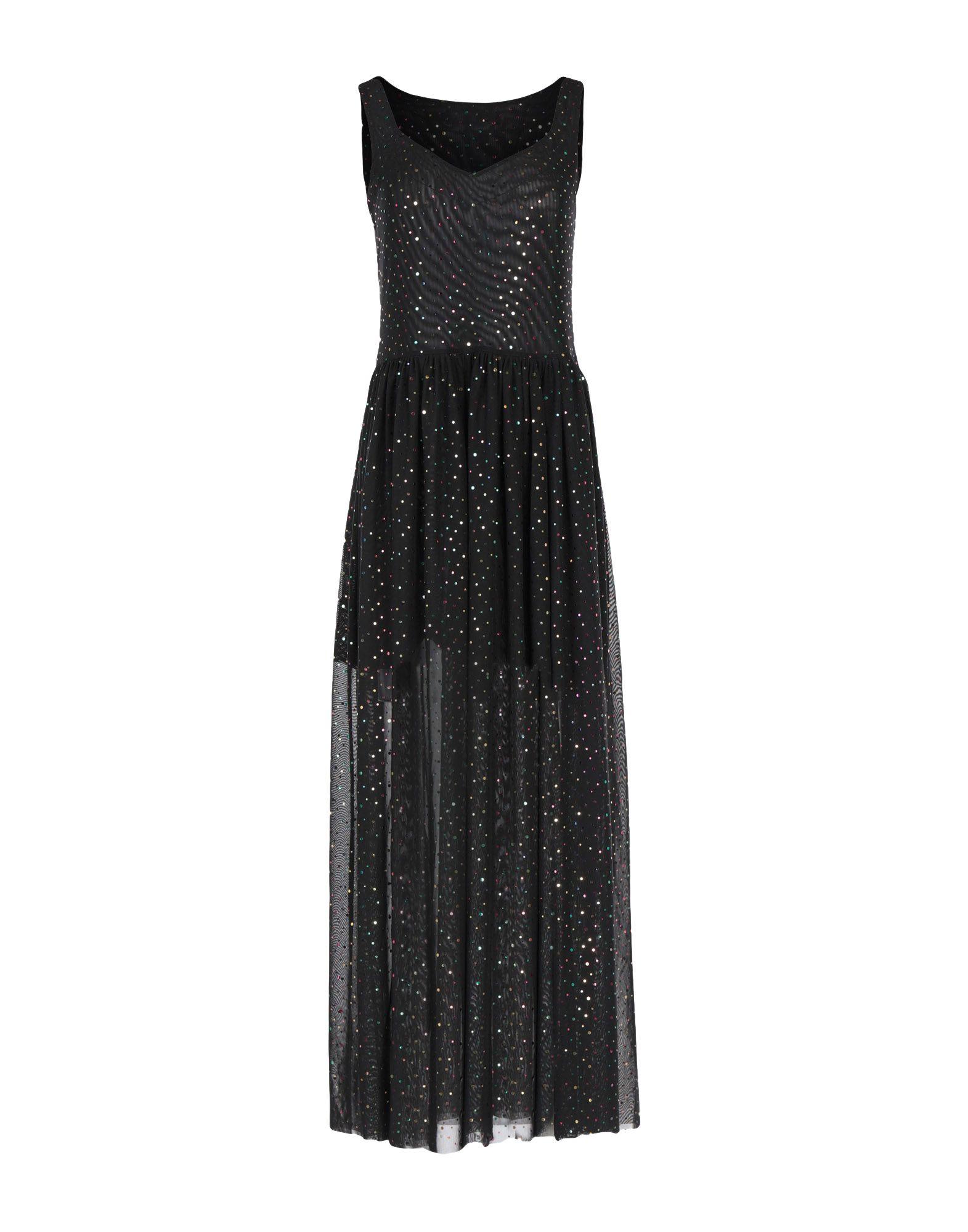 LOVE MOSCHINO Длинное платье цена 2017