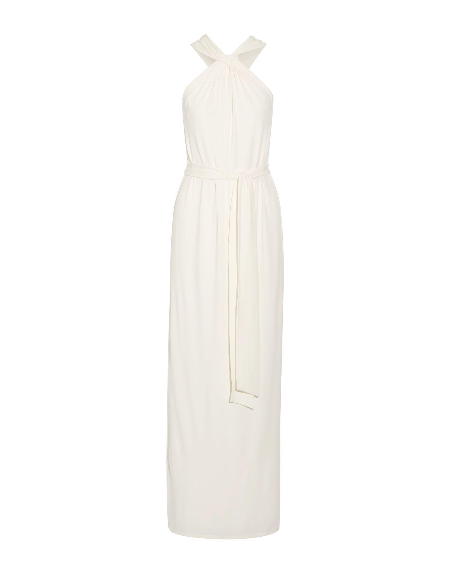 HALSTON HERITAGE Длинное платье halston heritage серое платье из вискозы