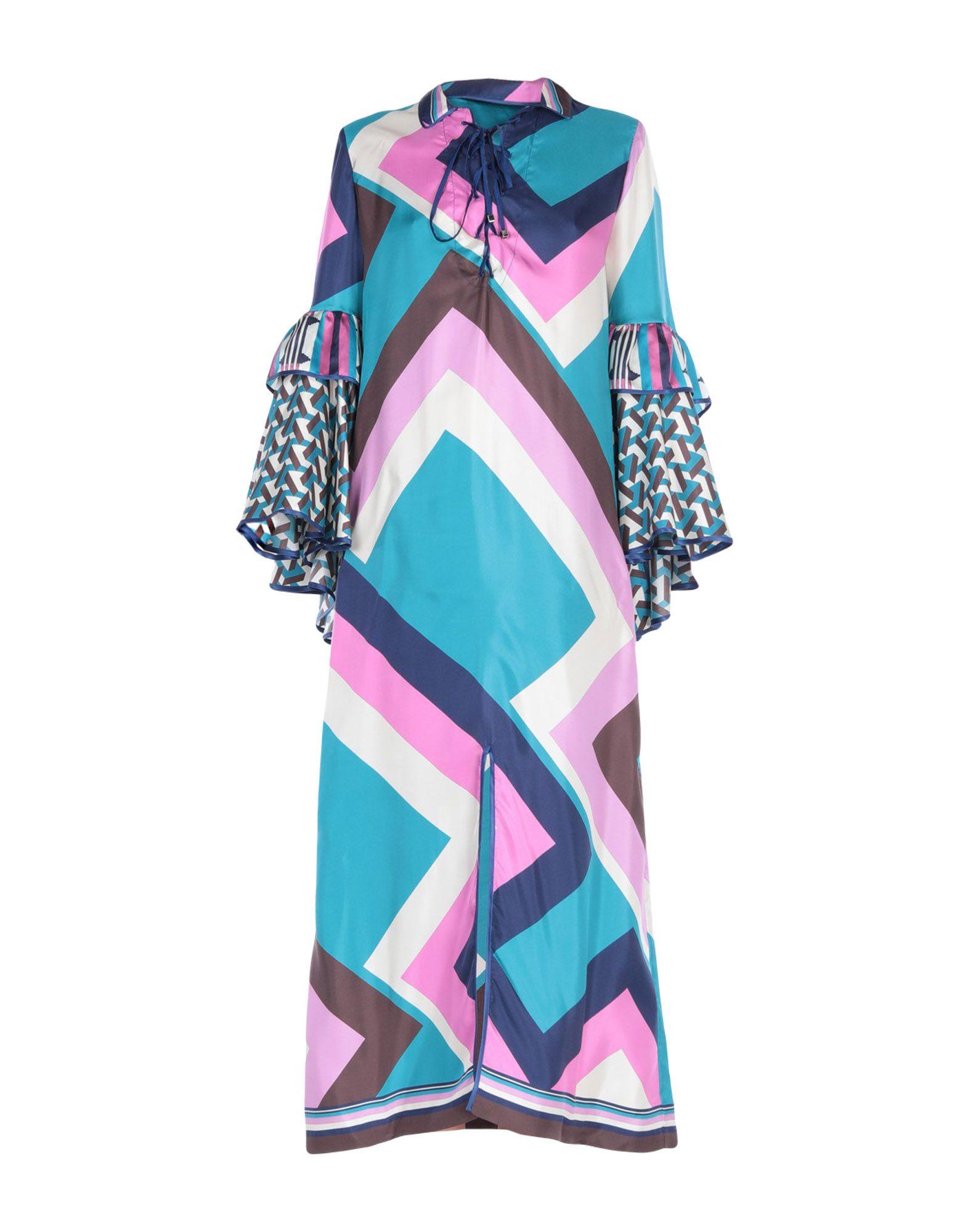 купить F.R.S. FOR RESTLESS SLEEPERS Длинное платье по цене 19700 рублей