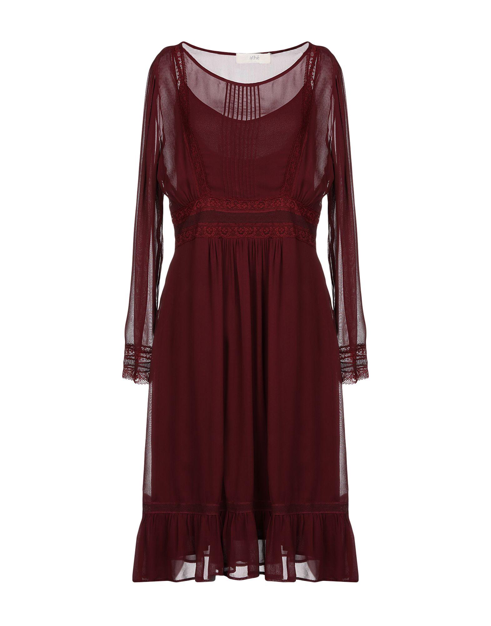 VANESSA BRUNO ATHE' Платье до колена цена и фото