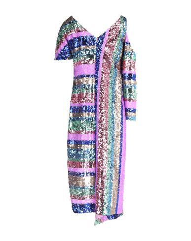 Фото - Платье до колена от SE-TA Rosy Iacovone сиреневого цвета