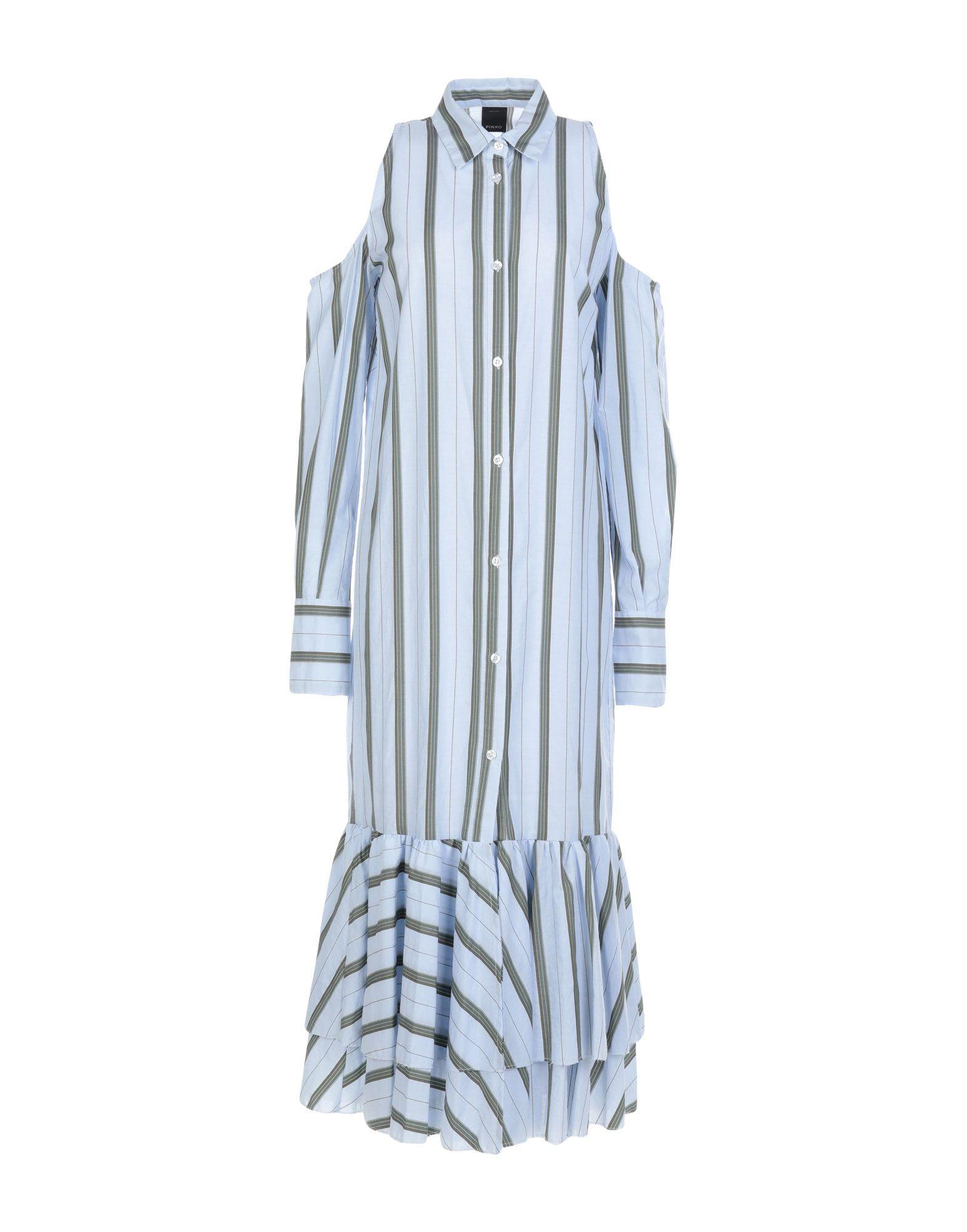 PINKO Платье длиной 3/4 рубашка pinko pinko pi754ewoic47