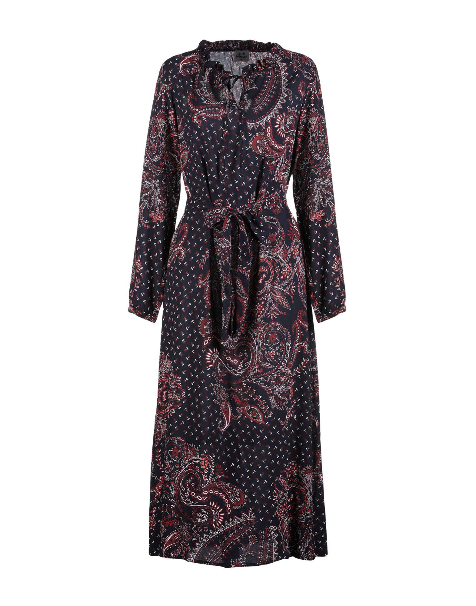 SUZIE WINKLE Длинное платье цена