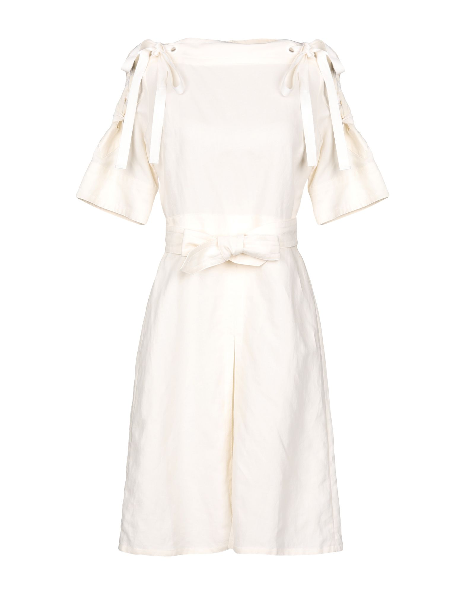 GUCCI Короткое платье gucci кожаные ремень с монограммами