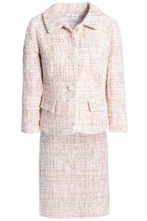MIKAEL AGHAL Sequin-embellished bouclé-tweed suit