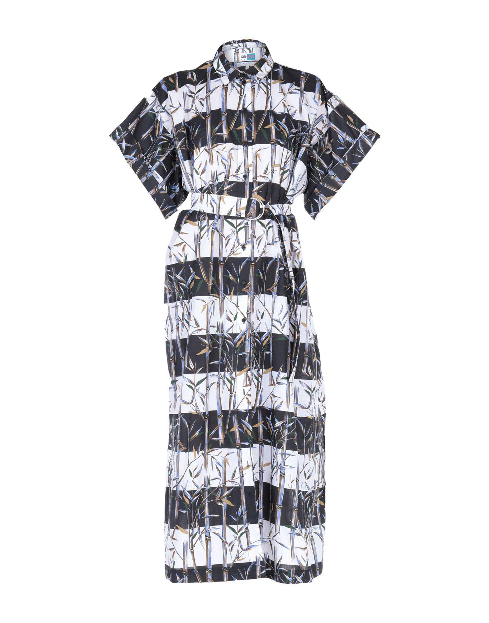 KENZO Длинное платье kenzo длинное платье