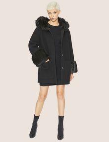 ARMANI EXCHANGE SOFT BALLOON-SLEEVE SWEATER DRESS Mini dress [*** pickupInStoreShipping_info ***] d