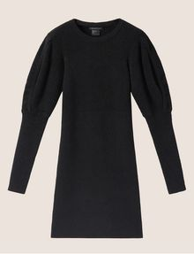 ARMANI EXCHANGE SOFT BALLOON-SLEEVE SWEATER DRESS Mini dress [*** pickupInStoreShipping_info ***] r