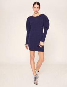 ARMANI EXCHANGE SOFT BALLOON-SLEEVE SWEATER DRESS Mini dress [*** pickupInStoreShipping_info ***] f