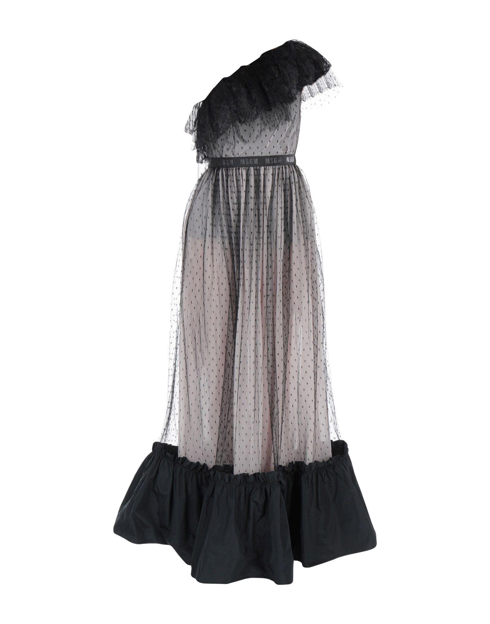 MSGM Длинное платье малого сексуально женщин от летних моды случайных плечо мини платье