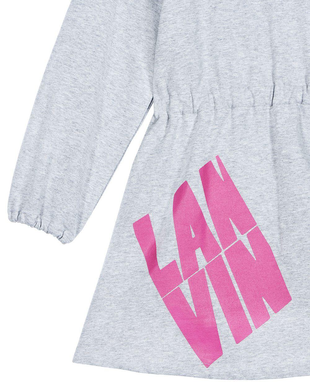GRAY LANVIN LOGO DRESS - Lanvin