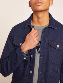 ARMANI EXCHANGE MODERN DENIM TRUCKER JACKET Denim Jacket Man b