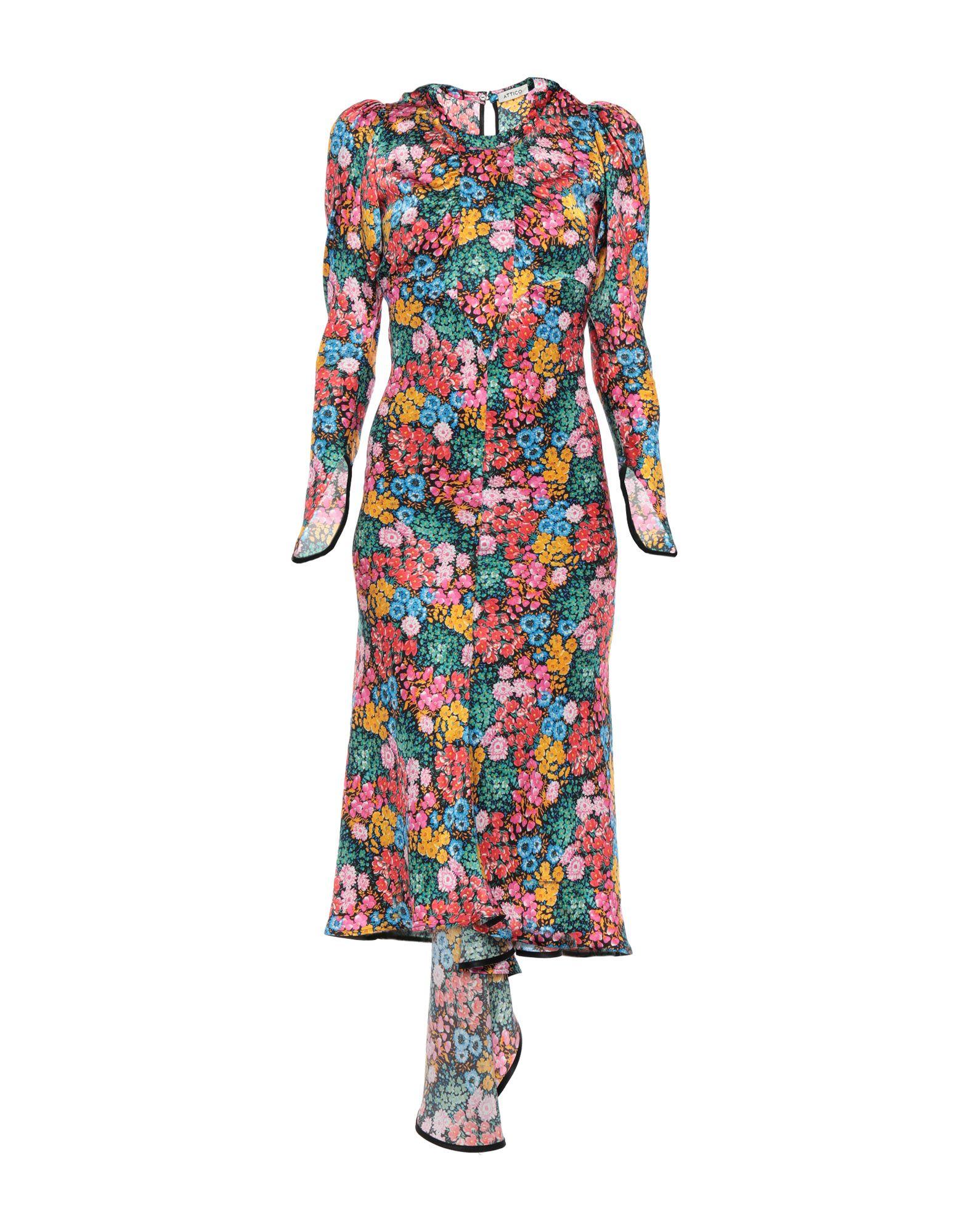 все цены на ATTICO Платье длиной 3/4 онлайн