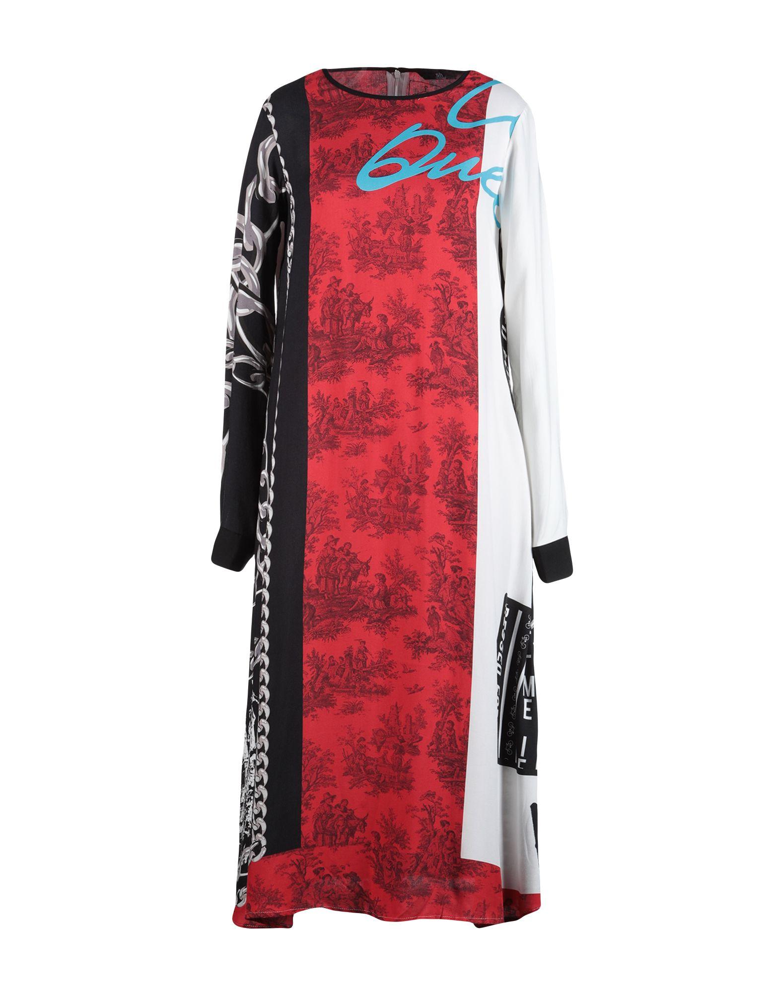 SH by SILVIAN HEACH Платье длиной 3/4 sh collection юбка длиной 3 4