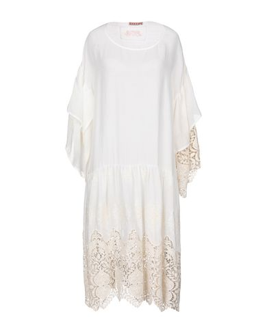 Купить Платье до колена белого цвета
