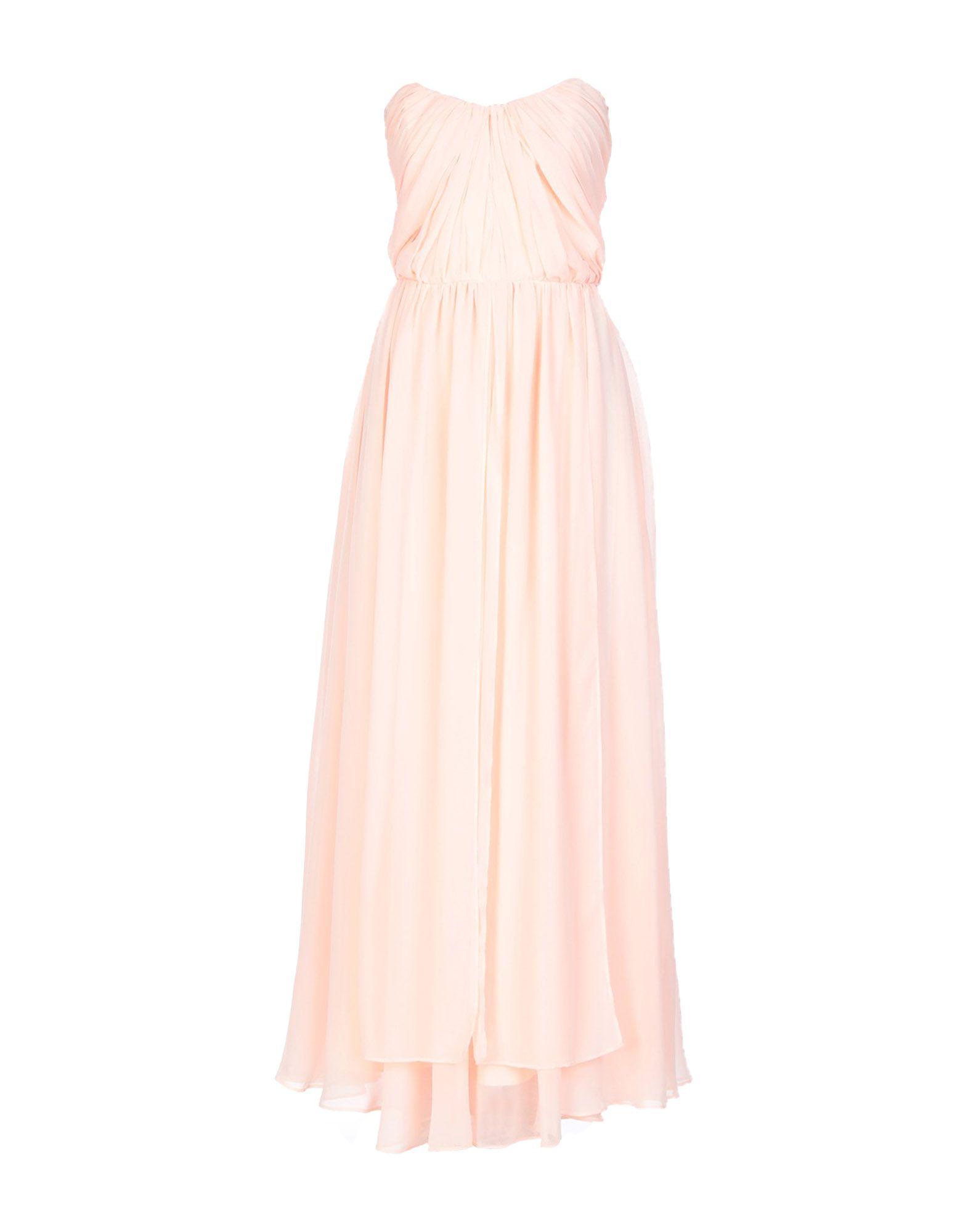 《セール開催中》BY MALINA レディース ロングワンピース&ドレス ピンク L ポリエステル 95% / ポリウレタン 5%