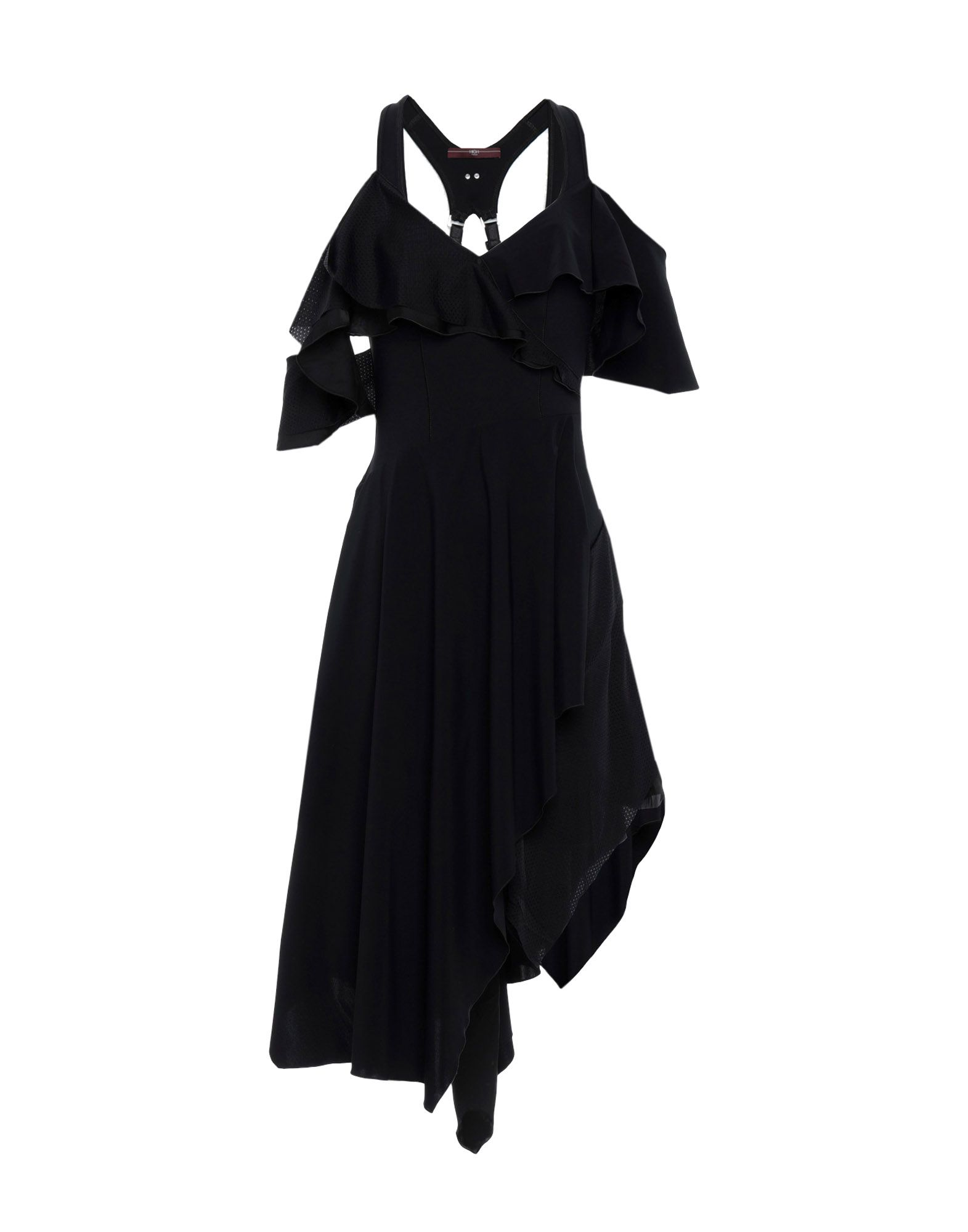 HIGH by CLAIRE CAMPBELL Платье до колена high юбка до колена