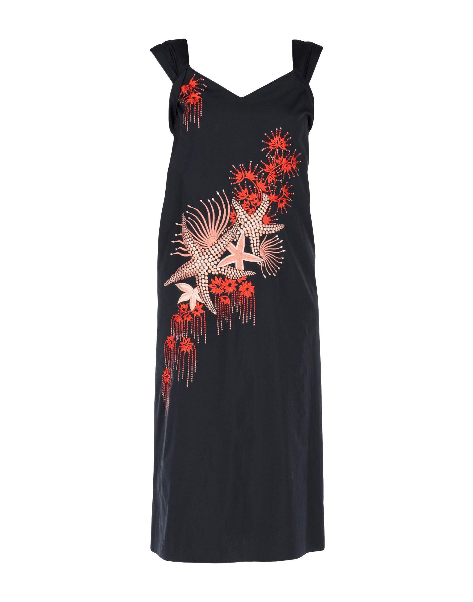 DRIES VAN NOTEN Платье длиной 3/4 dries van noten платье длиной 3 4