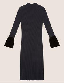 ARMANI EXCHANGE RIBBED MOCKNECK SWEATER MIDI Maxi dress [*** pickupInStoreShipping_info ***] r