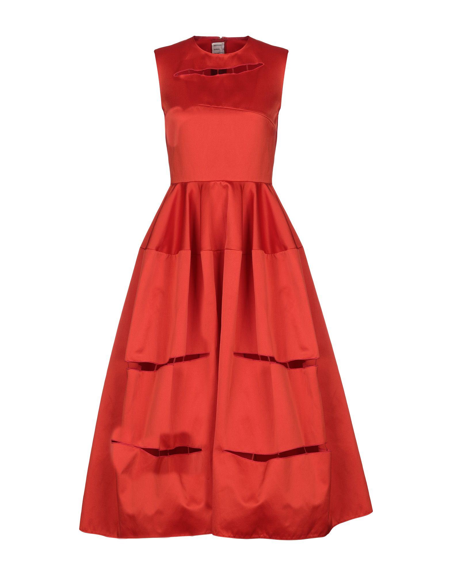 MAISON RABIH KAYROUZ Платье длиной 3/4 maison rabih kayrouz блузка