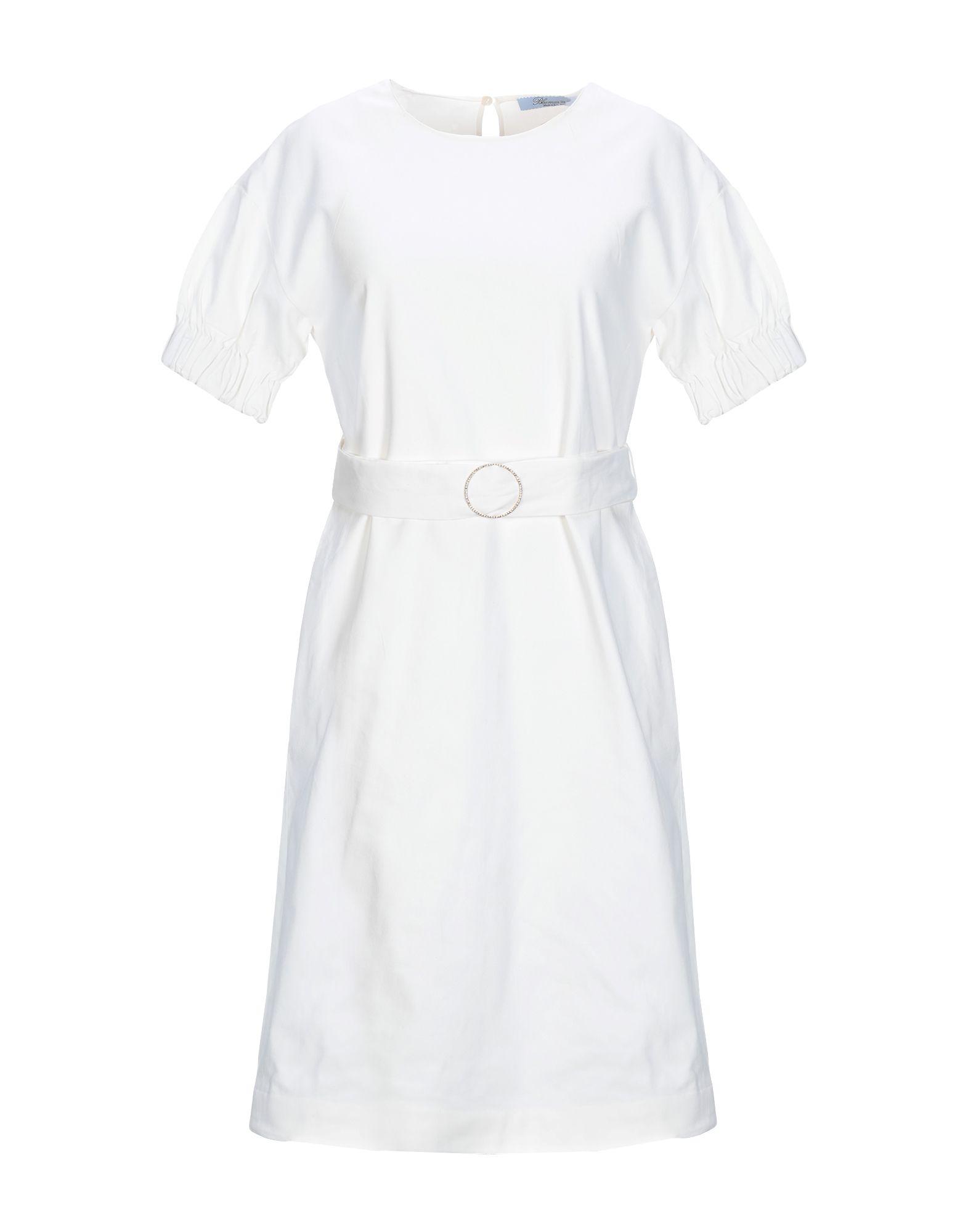 BLUMARINE Платье до колена цена 2017