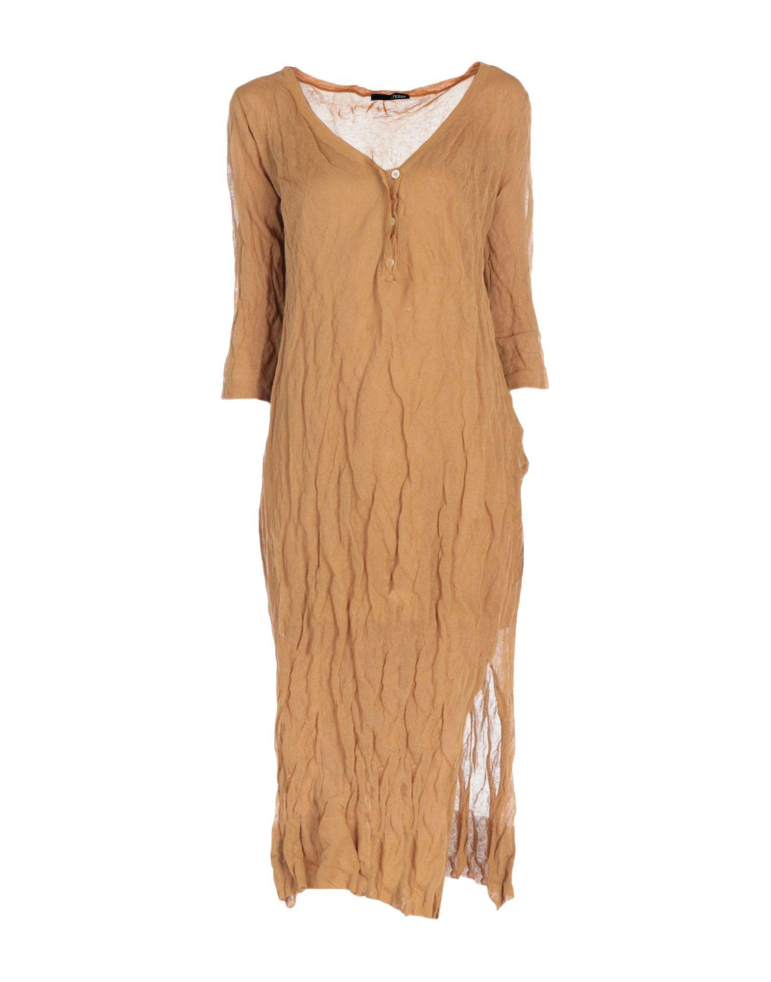 .TESSA Платье длиной 3/4 недорго, оригинальная цена