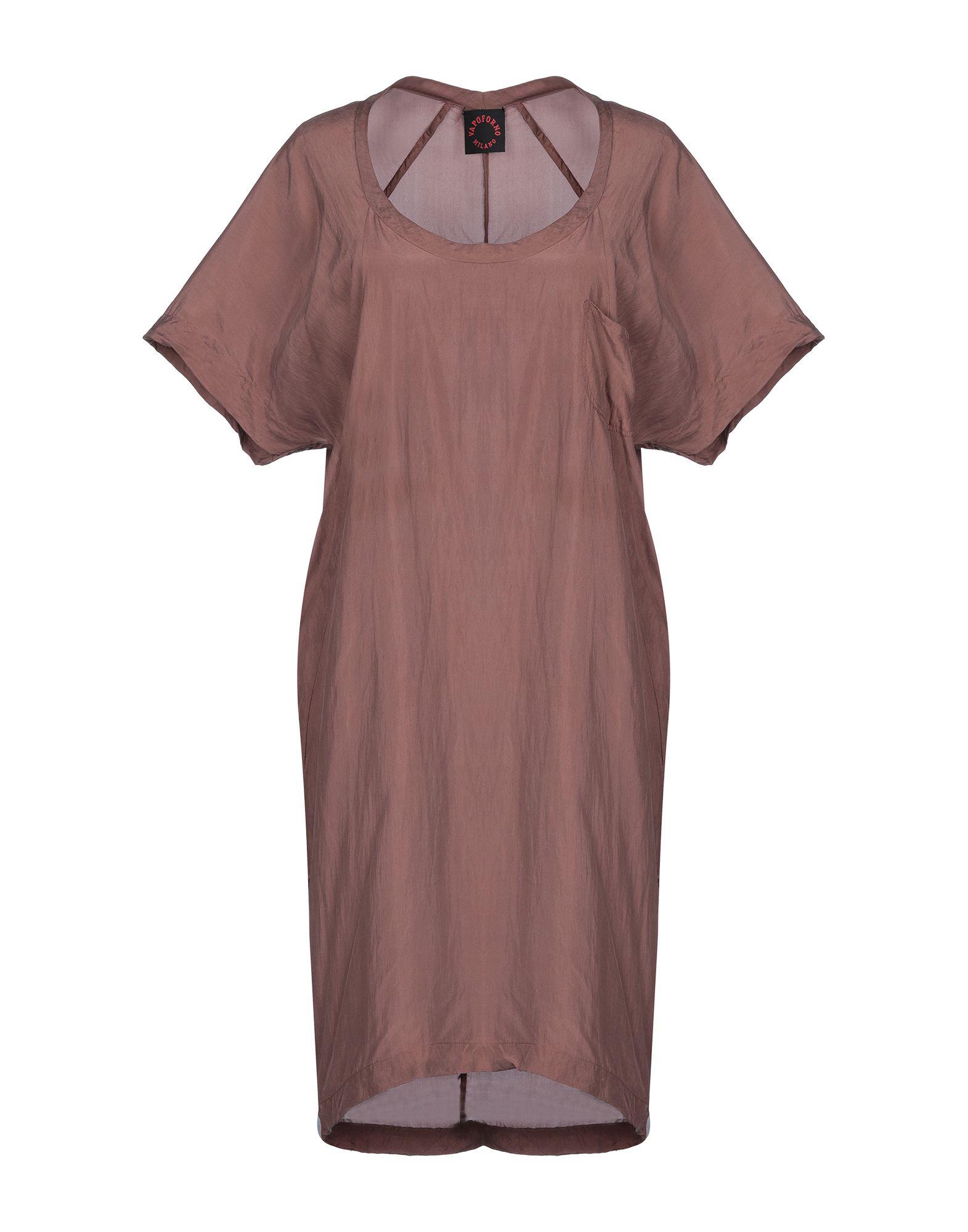 VAPOFORNO MILANO Короткое платье vapoforno milano куртка