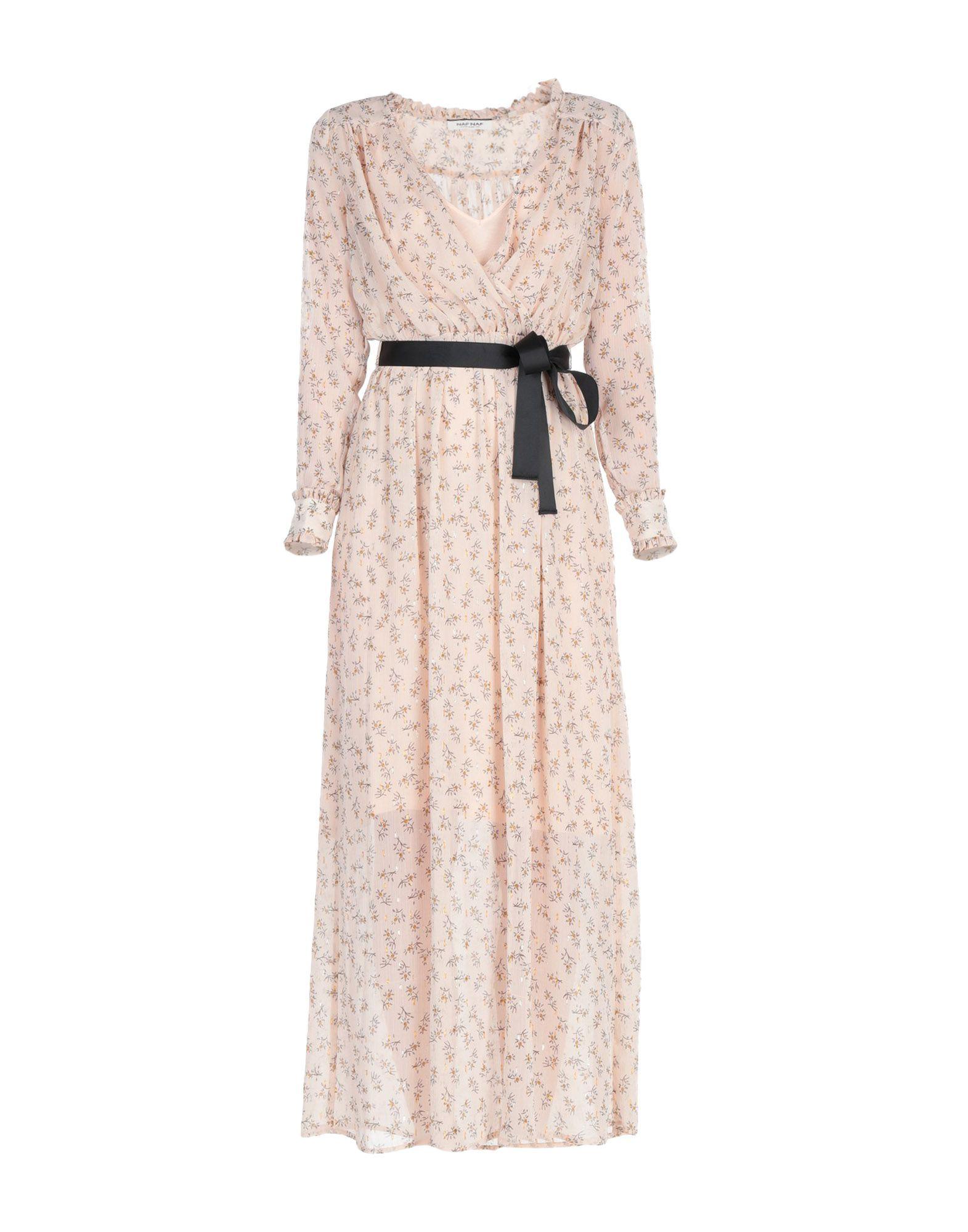 NAF NAF Длинное платье платье naf naf naf naf na018ewptb64