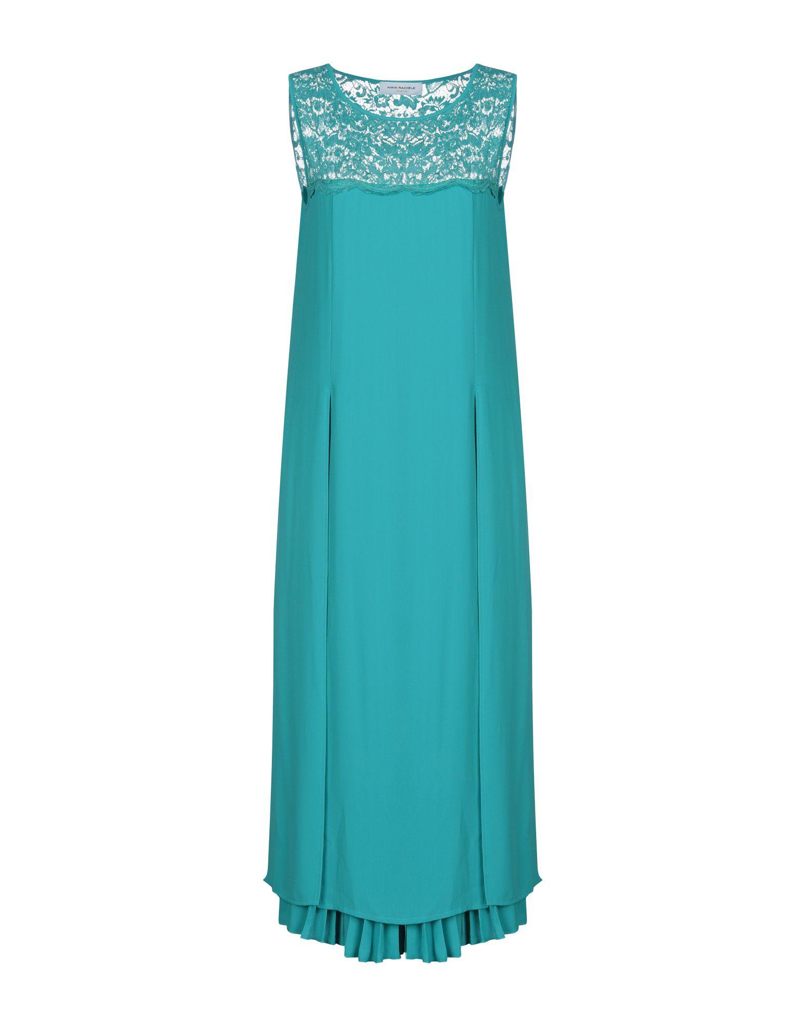 ANNA RACHELE JEANS COLLECTION Платье длиной 3/4 anna rachele jeans collection платье до колена