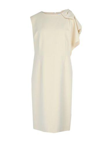 Купить Платье до колена бежевого цвета