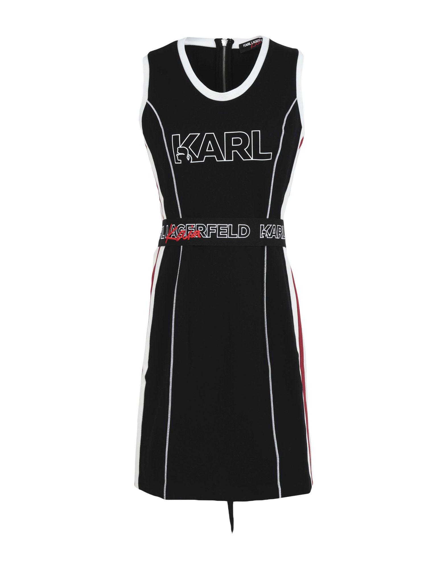 KARL LAGERFELD x KAIA Короткое платье karl lagerfeld x kaia толстовка