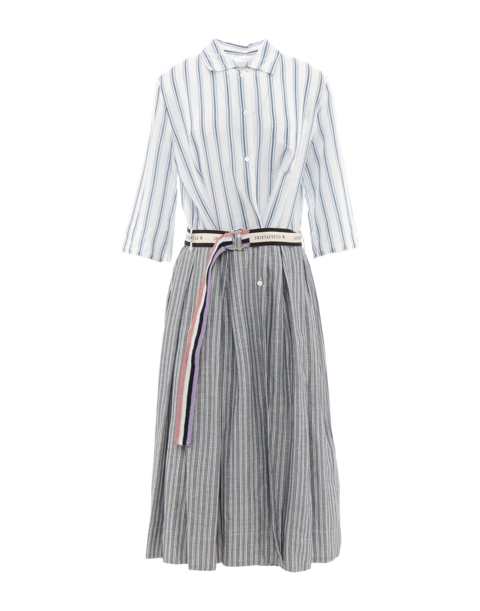 SHIRTAPORTER Платье длиной 3/4 цены онлайн