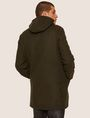 ARMANI EXCHANGE WOOL-BLEND CONVERTIBLE PEA COAT WITH BOMBER INSERT Coat [*** pickupInStoreShippingNotGuaranteed_info ***] e