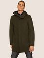 ARMANI EXCHANGE WOOL-BLEND CONVERTIBLE PEA COAT WITH BOMBER INSERT Coat [*** pickupInStoreShippingNotGuaranteed_info ***] f