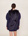 ARMANI EXCHANGE LONGLINE FAUX-FUR VEST Gilet Woman e