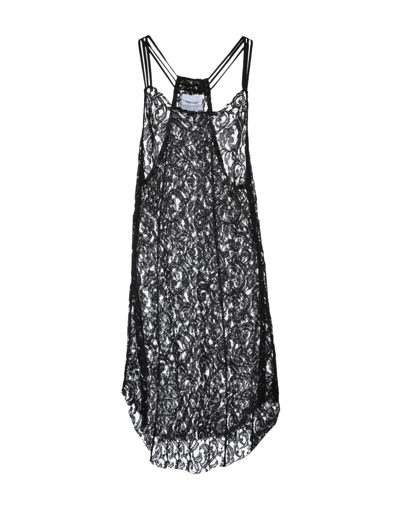 BRAND UNIQUE Платье длиной 3/4 micocah brand famous brand women handbags solid color environmental pu leather women messenger bags fashion bag 3 colors gl30027
