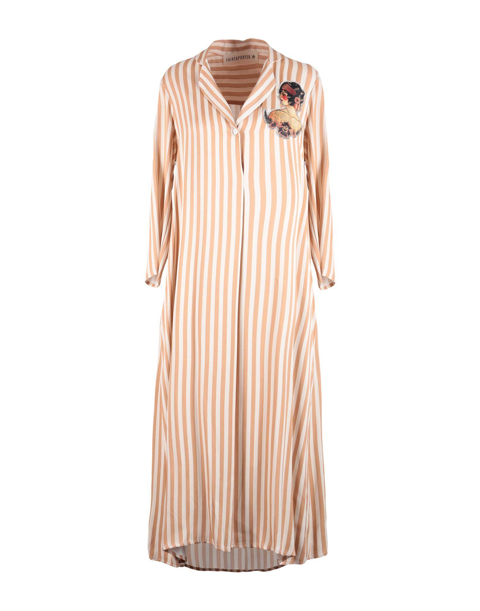 SHIRTAPORTER Платье длиной 3/4