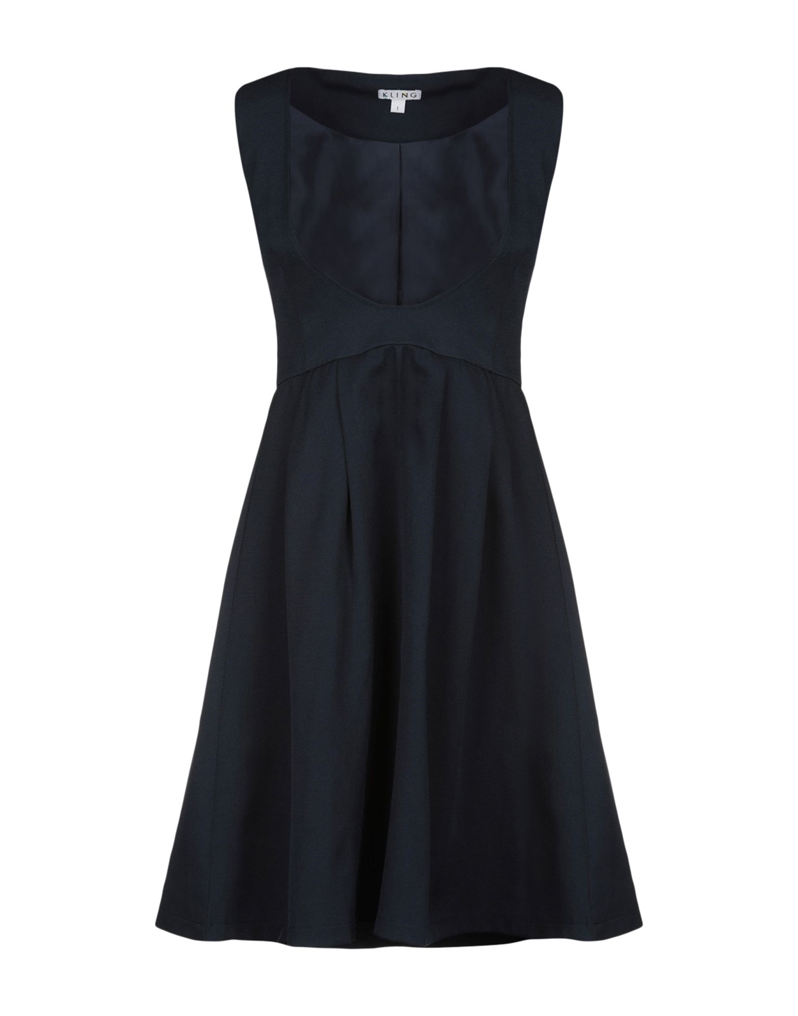 KLING Короткое платье платье kling kling kl002ewegg23