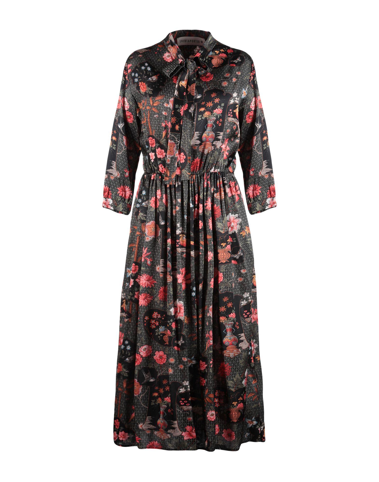 SHIRTAPORTER Платье длиной 3/4 shirtaporter платье длиной 3 4