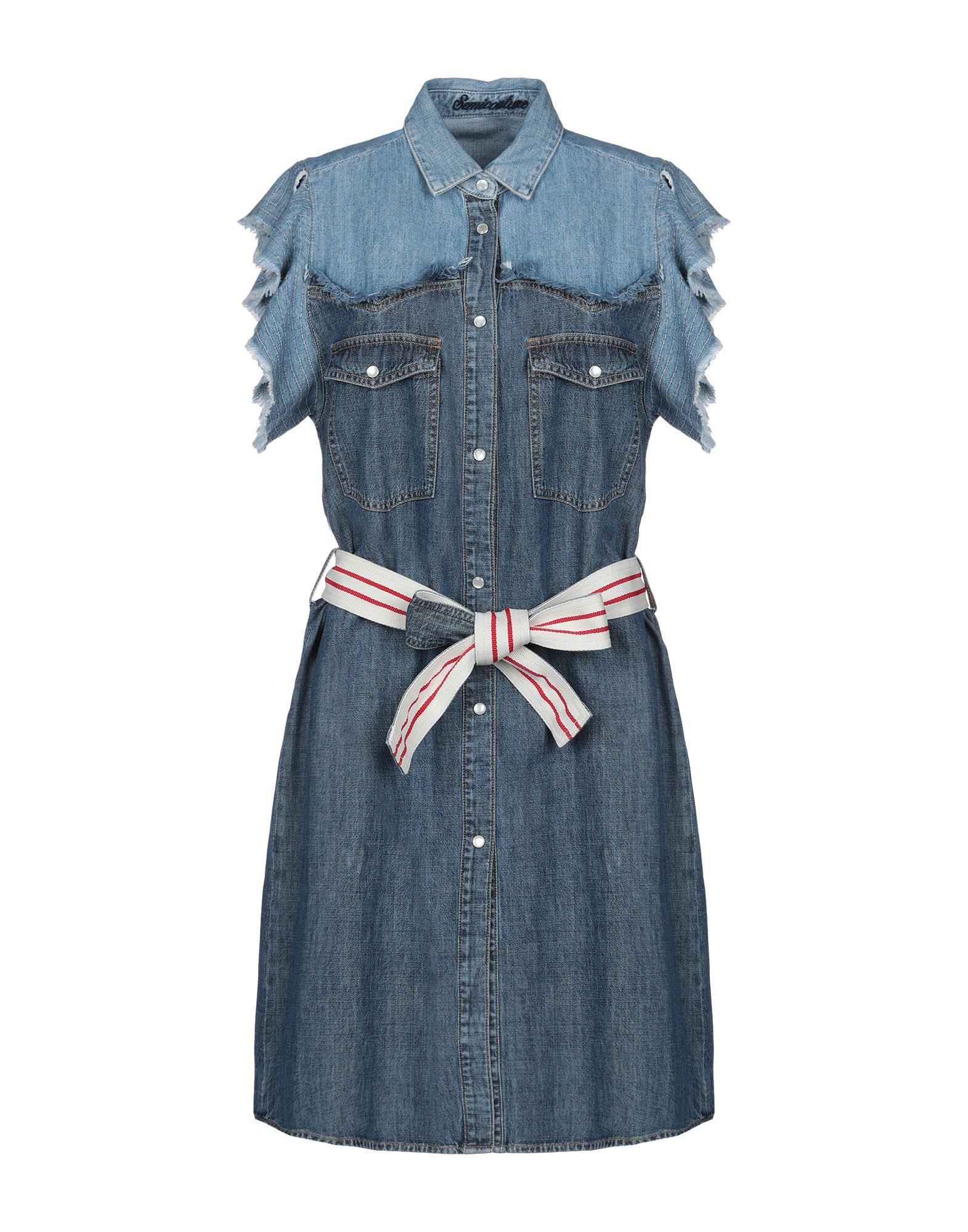 купить SEMICOUTURE Платье до колена по цене 5800 рублей