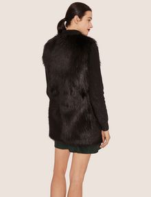 ARMANI EXCHANGE LONGLINE FAUX-FUR VEST Vest [*** pickupInStoreShipping_info ***] e