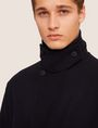 ARMANI EXCHANGE WOOL-BLEND TAB COLLAR PEA COAT Coat Man b