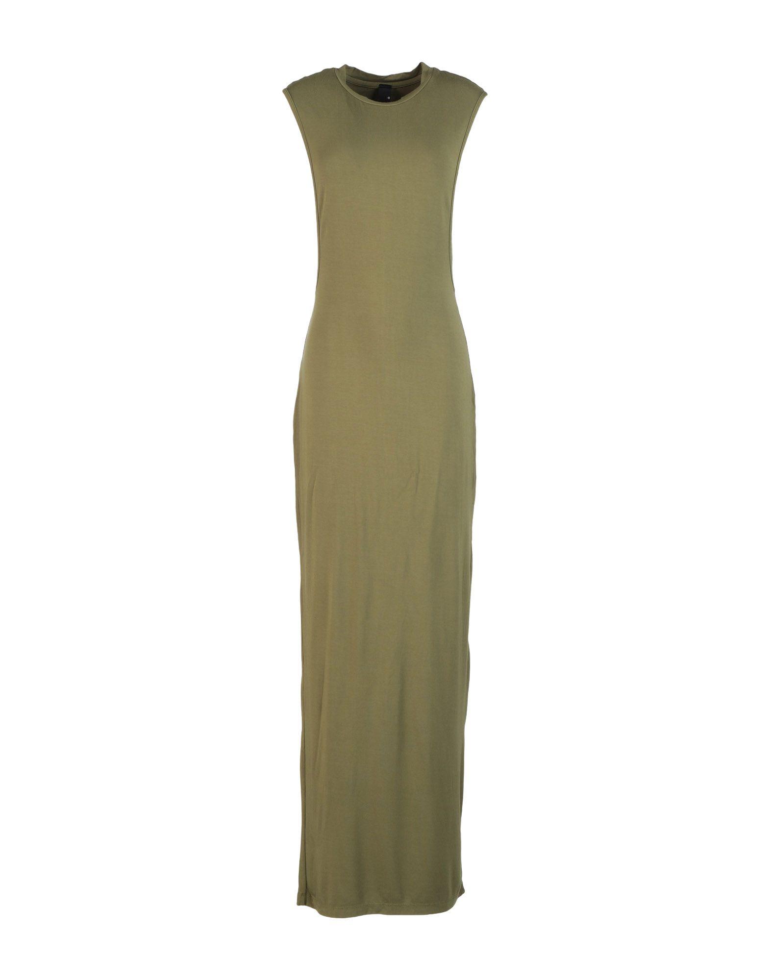 BOBI Длинное платье bobi pубашка