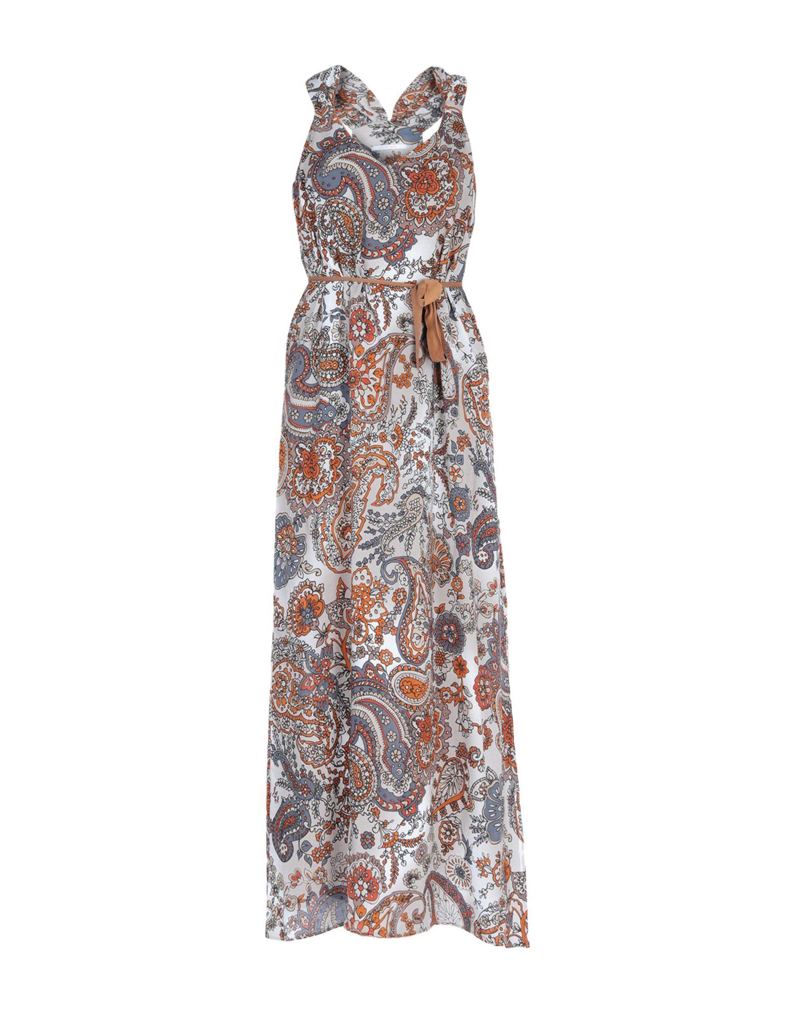 BIANCOGHIACCIO Длинное платье