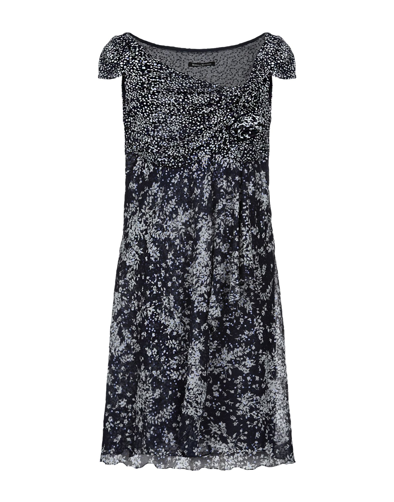 MIRELLA MATTEINI Короткое платье mirella matteini повседневные брюки