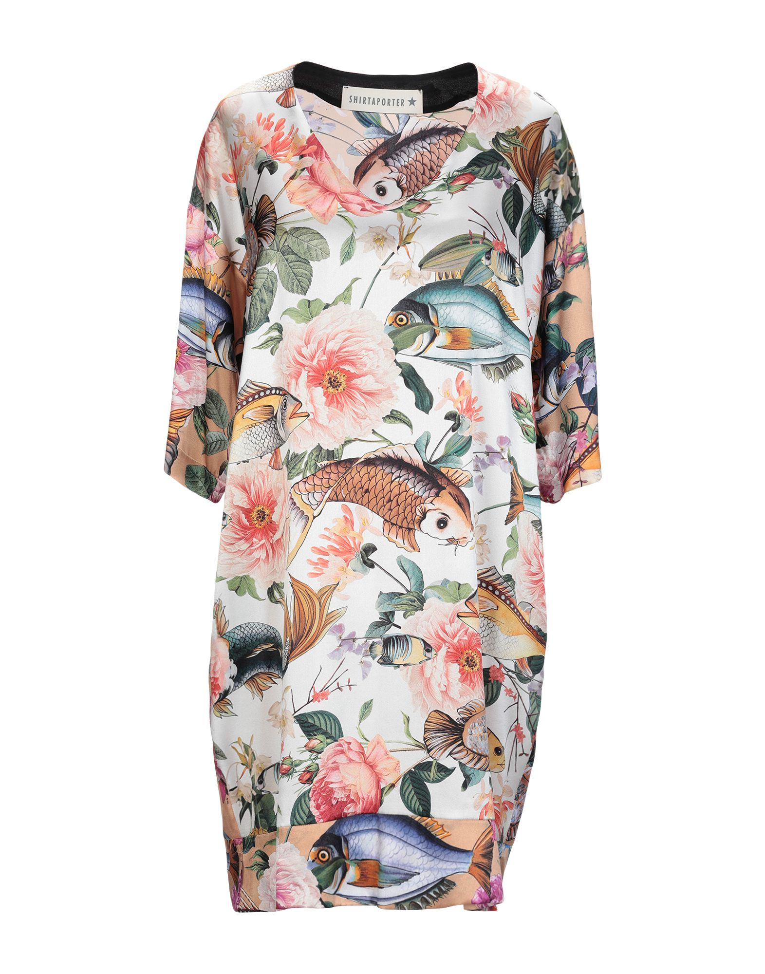 SHIRTAPORTER Короткое платье shirtaporter платье длиной 3 4
