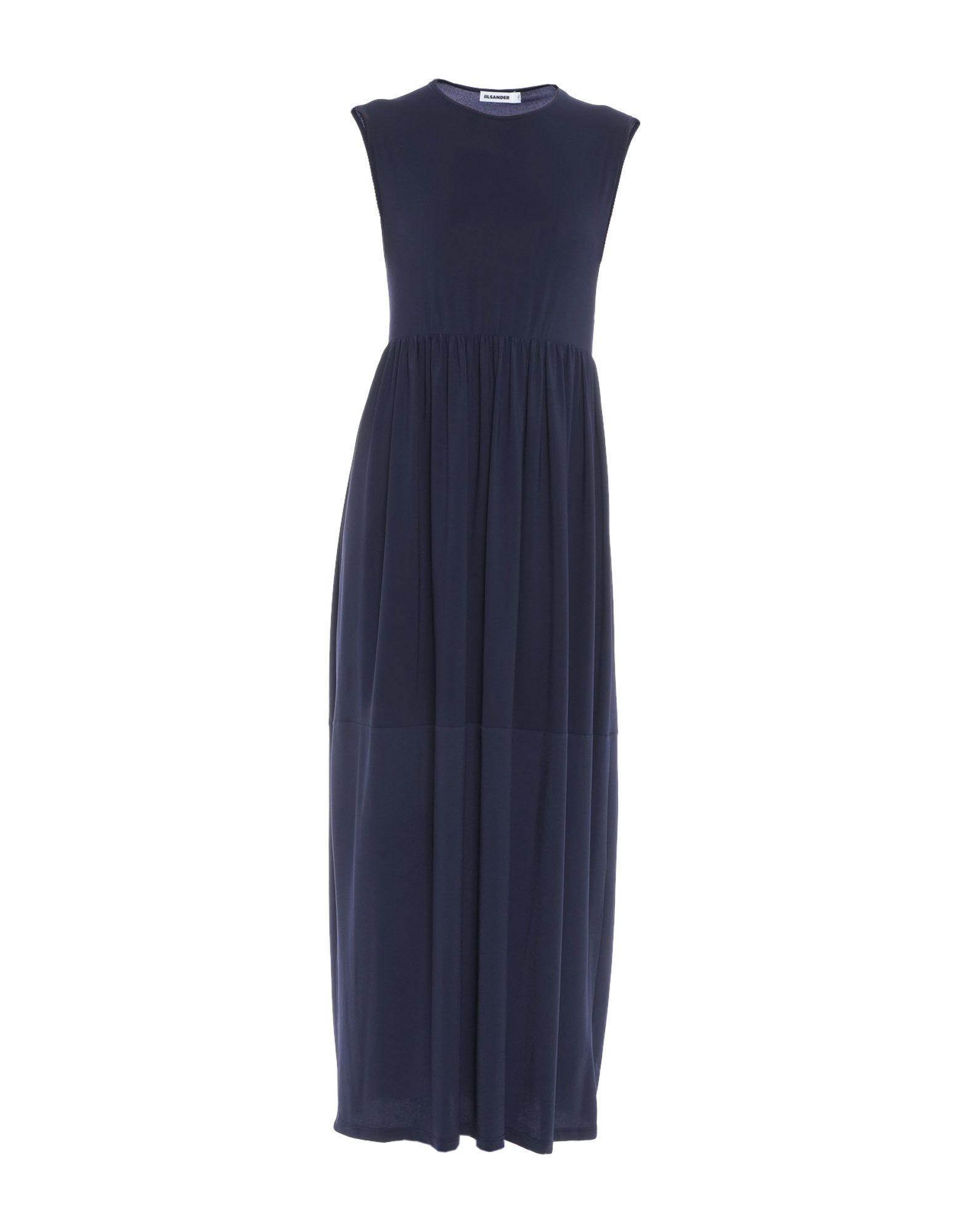 JIL SANDER Длинное платье cocoepps женщин большой размер длинное платье 2017 плюс размер дамы o шеи без рукавов танк summer maxi платья